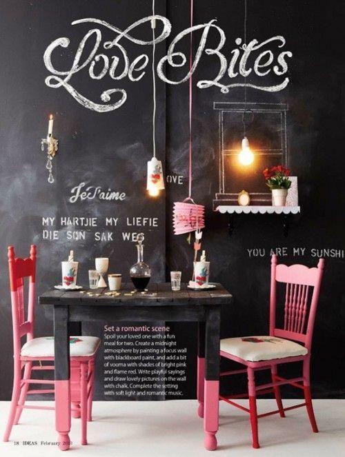 Ya sea si celebras San Valentín o te tienes que conformar con San Solterín, aquí van algunas ideas de decoración DIY para darle un toque más romántico a tu casa. ❤  