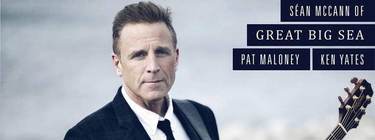 Algonquin College presents: Intimate and Acoustic with Sean McCann of Great Big Sea, Pat Maloney and Ken Yates