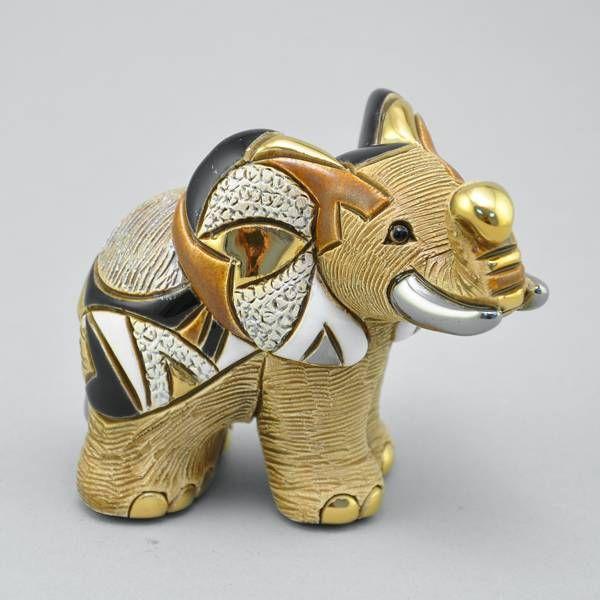 """Статуэтка """"Африканская слониха""""а Артикул:3924 Производитель:Уругвай Состав:керамика, глазурь Размер:11.5 x 5 x 8 см  7 978 руб."""