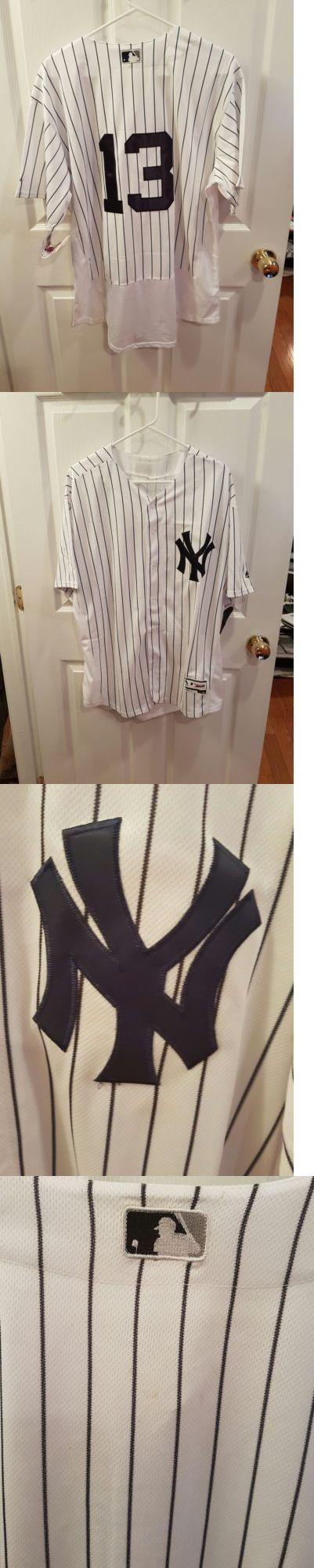 Baseball Shirts and Jerseys 181348: New York Yankees Alex Rodriguez #10 Pinstripes Extra Large Flexbase -> BUY IT NOW ONLY: $55 on eBay!