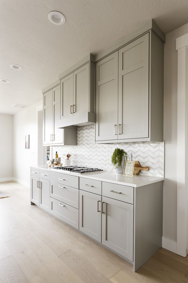 Kitchen Shaker Style Cabinets, Best Sherwin Williams Gray Paint Color For Kitchen Cabinets