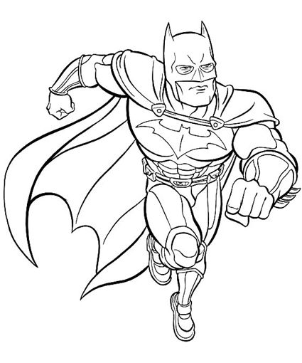 Batman Coloring Pages for Özgün