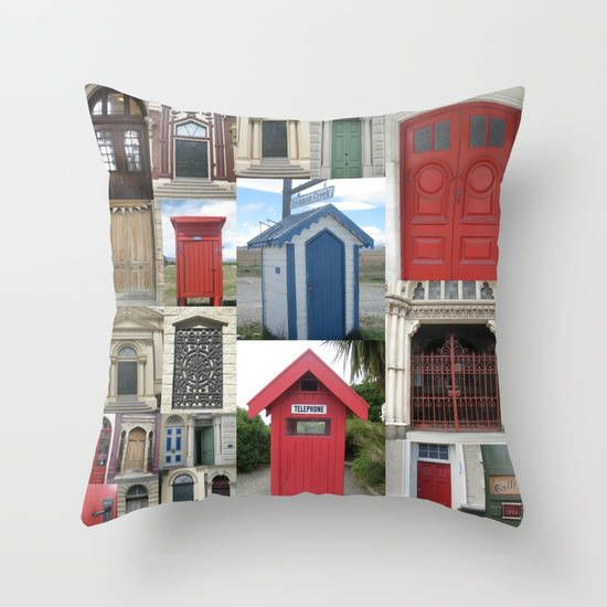 Prints of New Zealand by SuchFlair (type it as one word) on Etsy   red cushion cover cushion cover cushion covers case cover