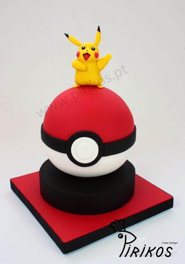 Pikachu Cake Design