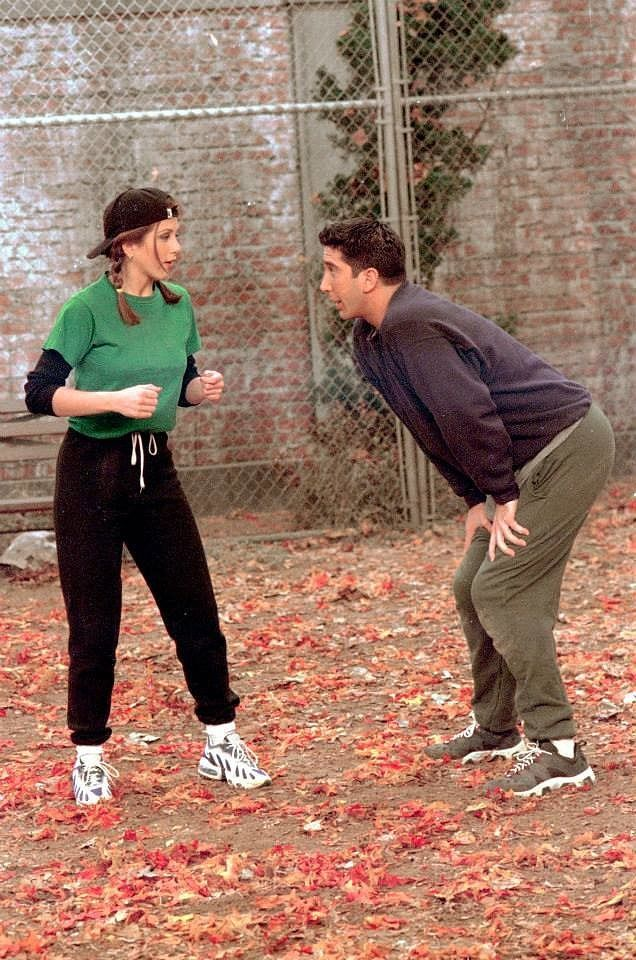 Rachel Green Nailed Athleisure Before It Even Became a Trend