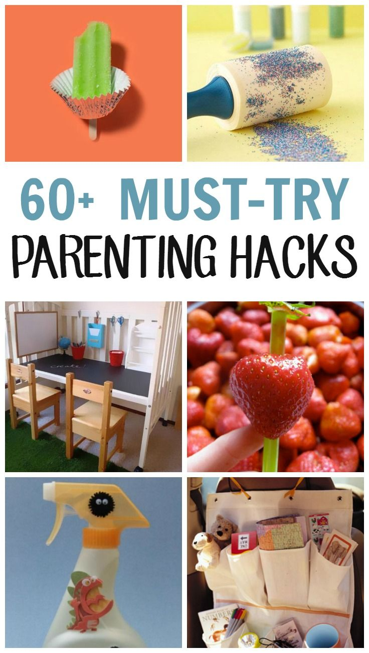 If these parenting hacks, safety and travel tips, and brilliant DIY ideas for kids give you even five minutes back in your day, they're worth sharin Get inspired by these parenting tricks and give yourself a break. You deserve it!