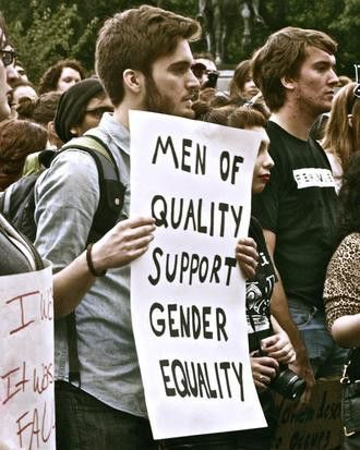 """Men of quality support gender equality"""