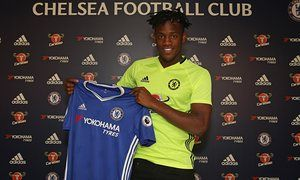 Chelsea sign striker MICHY BATSHUAYI from Marseille for £33m...