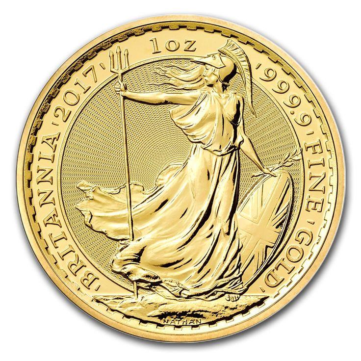 Moneda de Oro Britannia 2017 1 oz