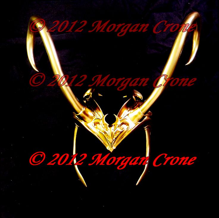 Lady Loki Headdress by MorganCrone.deviantart.com on @deviantART