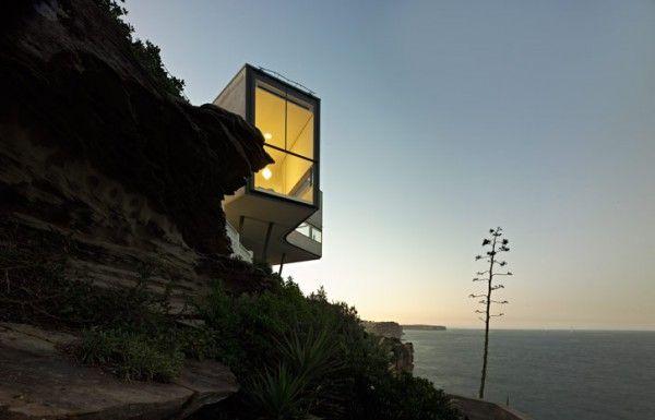 Casa escultura frente al Mar de Tasmania #arquitectura #design