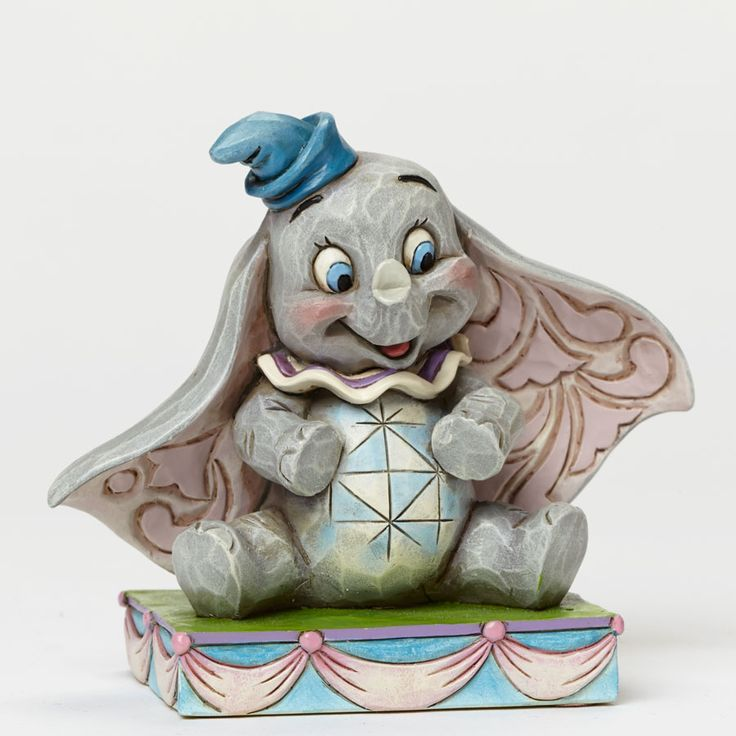 "Who's your favorite baby elephant? ""BABY MINE"" - DUMBO FIGURINE (Jim Shore Disney Traditions) #Disney #JimShore"