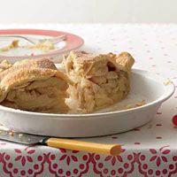 Firm, crisp, tart apples bake up in a buttery, flaky crustthe standard by which all other fruit desserts are measured.