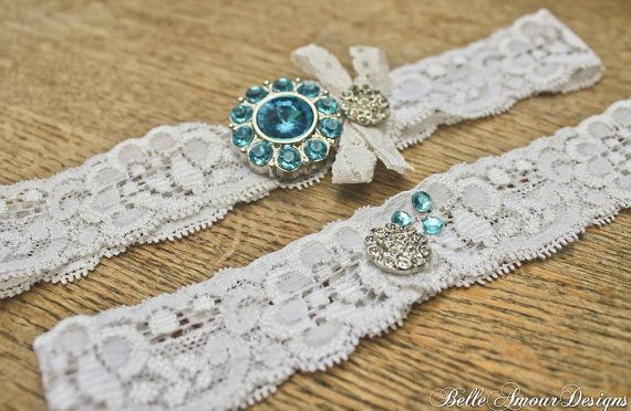 Wedding Garters (by Belle Amour Designs)