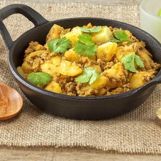 Curry de boeuf aux pommes de terre