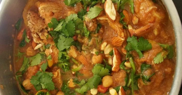 Chicken and Date Tagine (from 28 by Sam Wood)