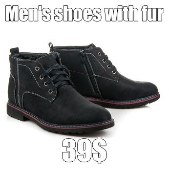 Men's shoes with fur Comfortable winter shoes for men. Made of high quality materials. Inside the insulated soft fur, which protects against the most frost. They will match each male styling. https://www.cosmopolitus.com/pAnskE-boty-koZIskem-odstiny-modre-m927n-p-240637.html?language=en&pID=240637 #mens #shoes #Winter #Warm #fur #warm #cold #winter #style