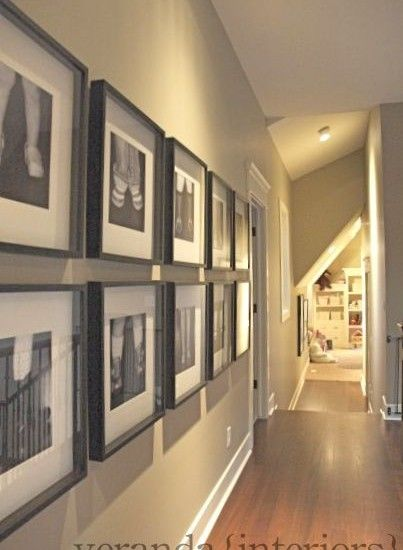 Beautiful are the feet that bring good news... Am drawn to these hallway pictures!