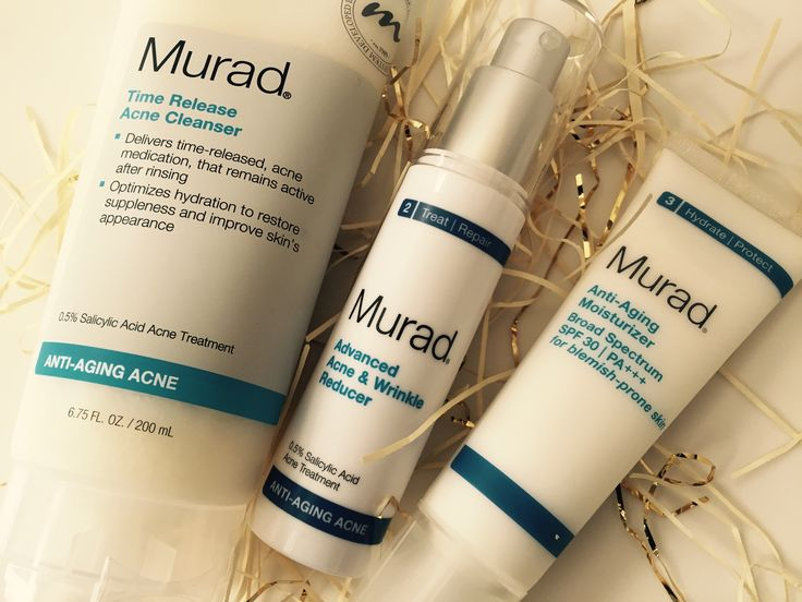 Murad Anti-Aging Acne Skin Care Review - Fancy Francy