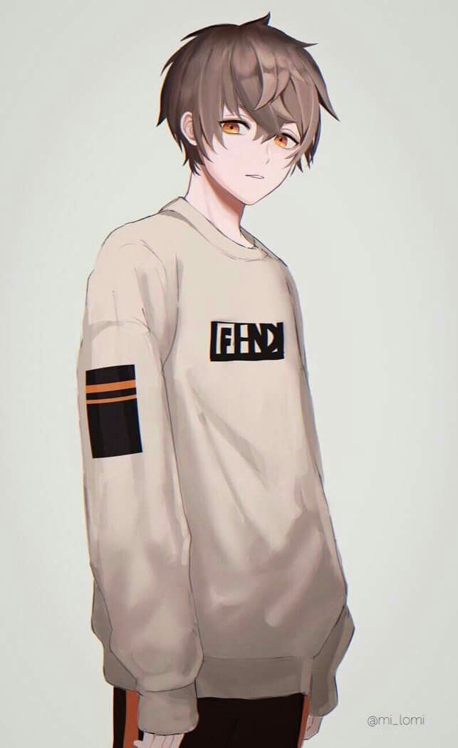 The Innocent Look Anime Boy Hair Cute Anime Guys Anime Drawings Boy
