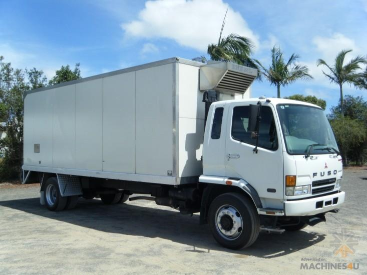 Used Fuso Refridgerated Trucks for sale - http://www.machines4u.com.au/search/Truck-and-Trailers/Refridgerated-Trucks/17/360/