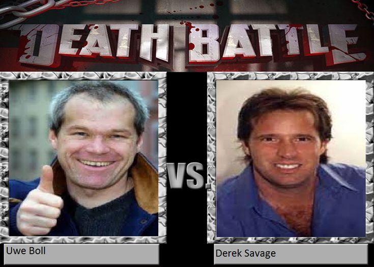 Uwe Boll vs. Derek Savage by CerisBeech on DeviantArt