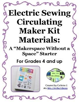 Empower your students to learn to sew & make circuits at home with these electric sewing maker kits! This product includes 51 pages of materials to create 3 different Electric Sewing Maker Kits out of binders or mini binders.