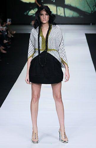 Geometrics Dress Design by Oscar Lawalata