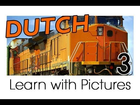 Learn Dutch Vocabulary with Pictures - Getting Around in Vehicles