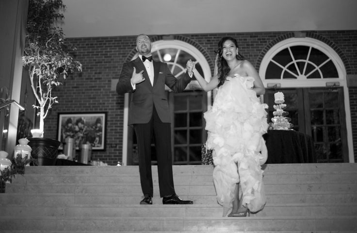 St. Andrew's College wedding reception introduction