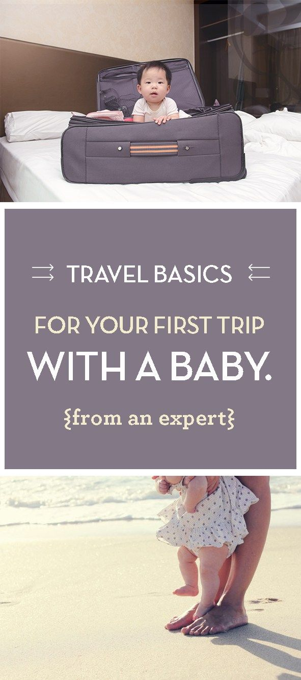So you've decided to go on a trip with your baby? It'll be great! Click through for great travel tips and tricks from an expert traveler!