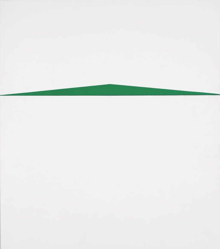 Carmen Herrrera, Blanco y Verde (1959), Whitney Museum of American Art