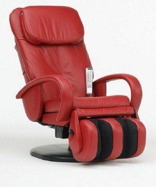 Massagesessel Massagestuhl Dallas HT-125 in rot