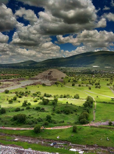 Teotihuacan Mexico. Been here, but would gladly go again. And again. And again...