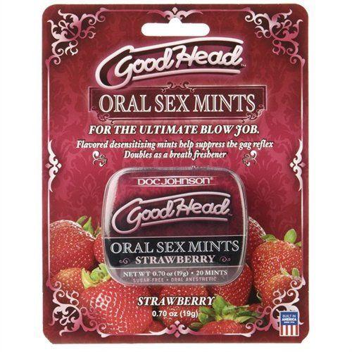 Doc Johnson Goodhead Oral Sex Mints - Strawberry by Doc Johnson. $8.50.  Oral Sex