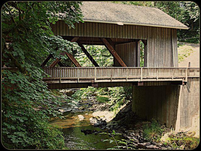 Old Covered Bridges   Old fashioned covered bridge (Washington)   Flickr - Photo Sharing!