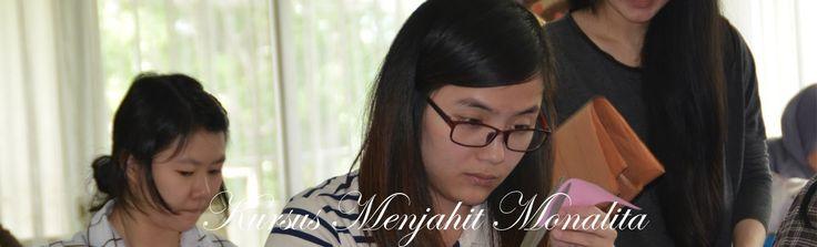 Kursus Menjahit  (Kegiatan Belajar Mengajar MONALITA tahun 2016)