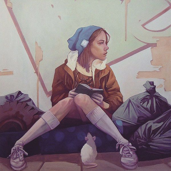 Sainer and Bezt, known generally as Etam Cru, are both from Poland reaching their thirties. Being a duo that are keen of transforming ugly city installations so people can enjoy a walk in the city. Colour, ideas, feelings emerge from these murals and this effort transforms the whole city itself.