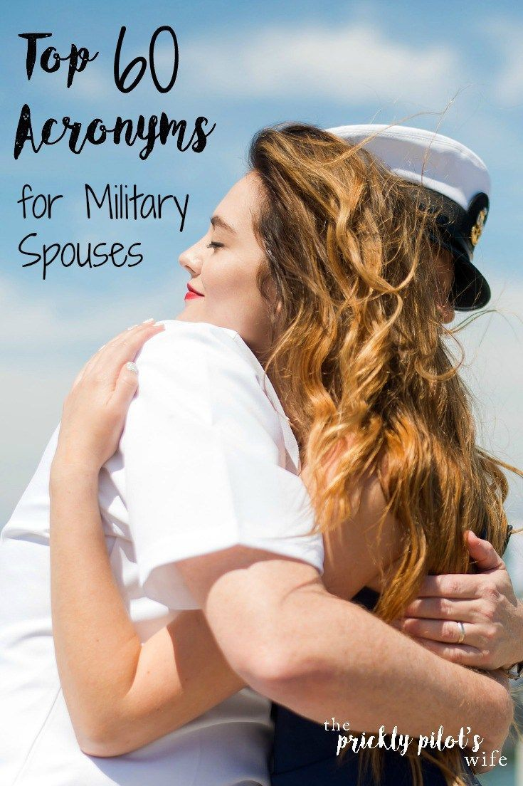 Top 60 Acronyms for Military Spouses Military Spouse