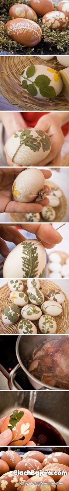 zdobienie jajek na wielkanoc