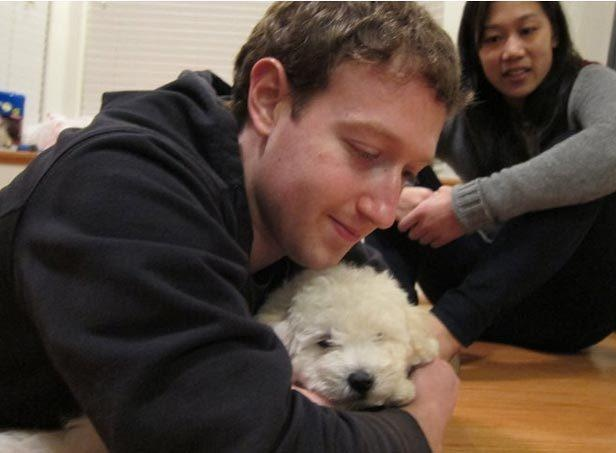 Mark Zuckerberg and his pup: Friends, Dogs, Beast Tel, Zuckerberg Beast, Pets People, Mark Zuckerberg S, Dog Beast