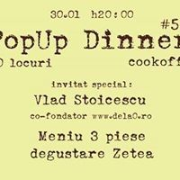 PopUp Dinner @ Espace Minoux