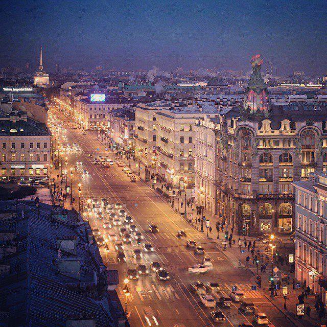 The legendary Nevsky Prospekt