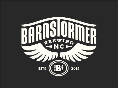 Barnstormer Brewing Logo by Lauren Dickens