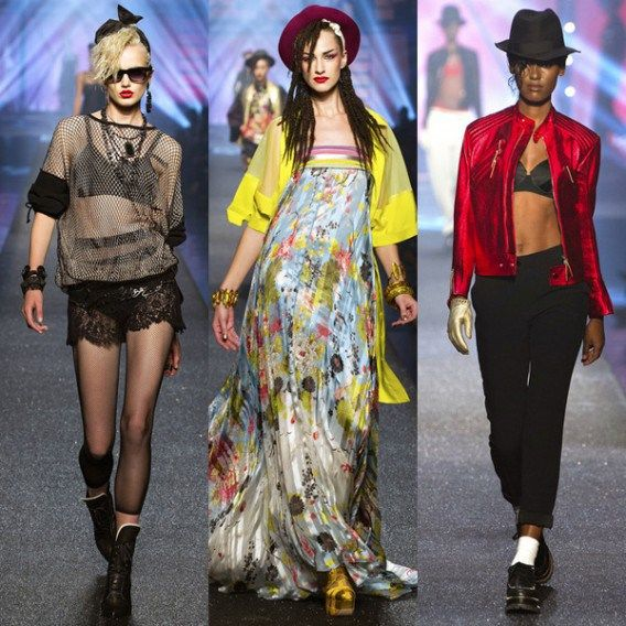 #JeanPaulGaultier #GianniVersace #Trends #Look #1980s #BoldColors #ExaggeratedShapes #Jewelry #mafash14 #bocconi #sdabocconi #mooc #w3