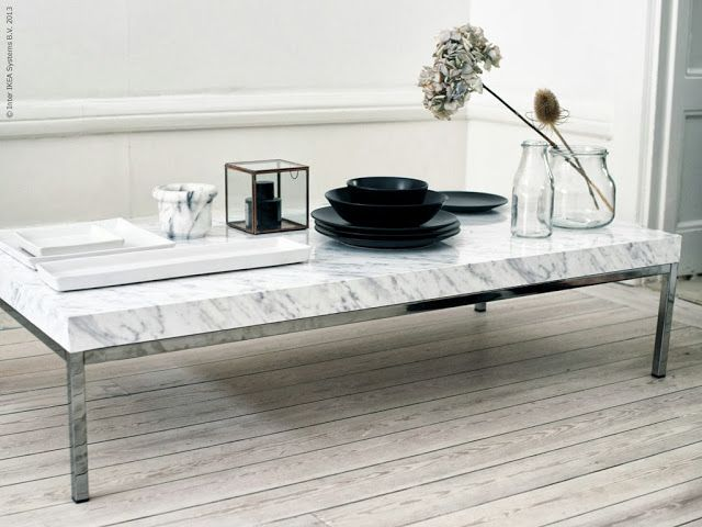 La maison d'Anna G.: DIY: marble coffee table