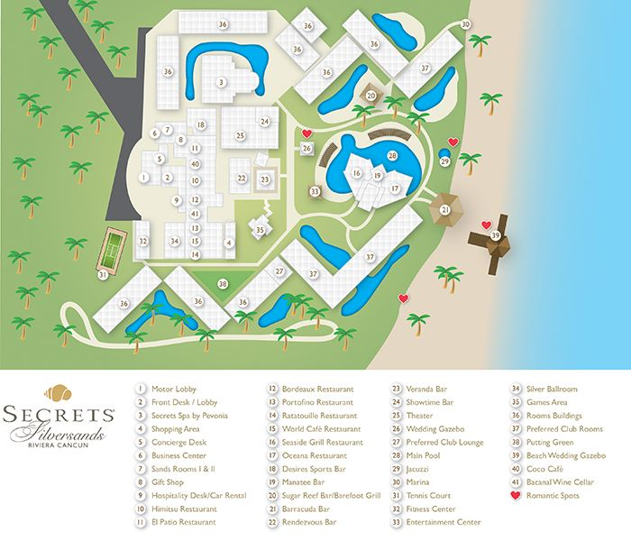 Silver Sands Outlet Map Secrets SIlversands Resort Map ~ Unlimited Vacation Club | We