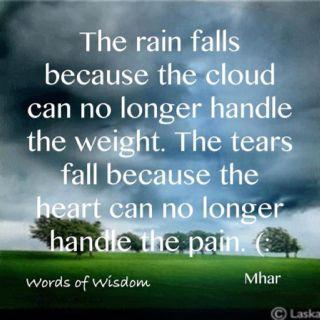 Sadness........
