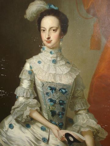 Thomas Hudson (British 1701-1779), Portrait of a lady