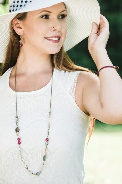 Dahlia Earrings - Global Wonders Jewelry
